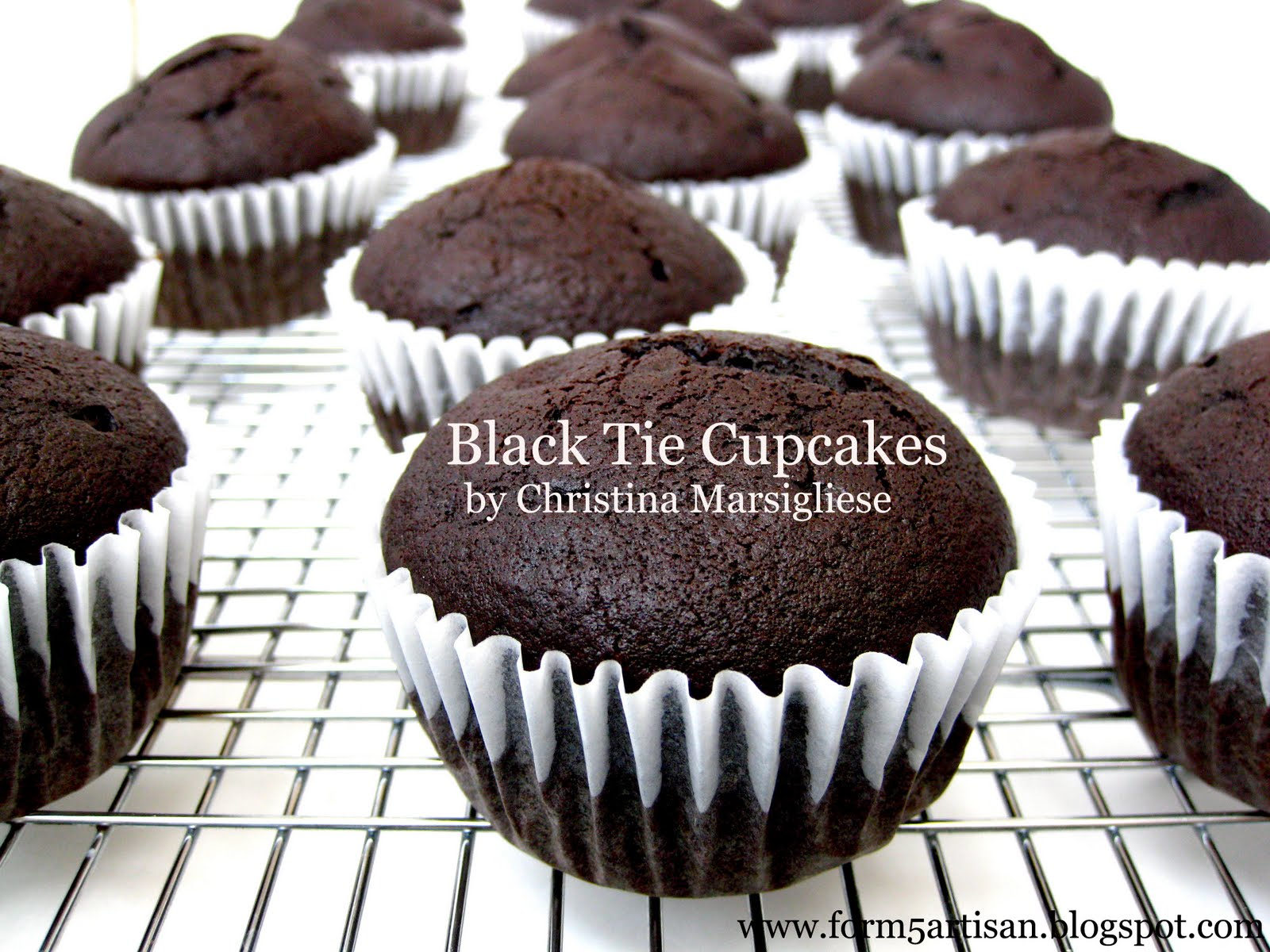 Black Tie Cupcakes Recipe — Dishmaps