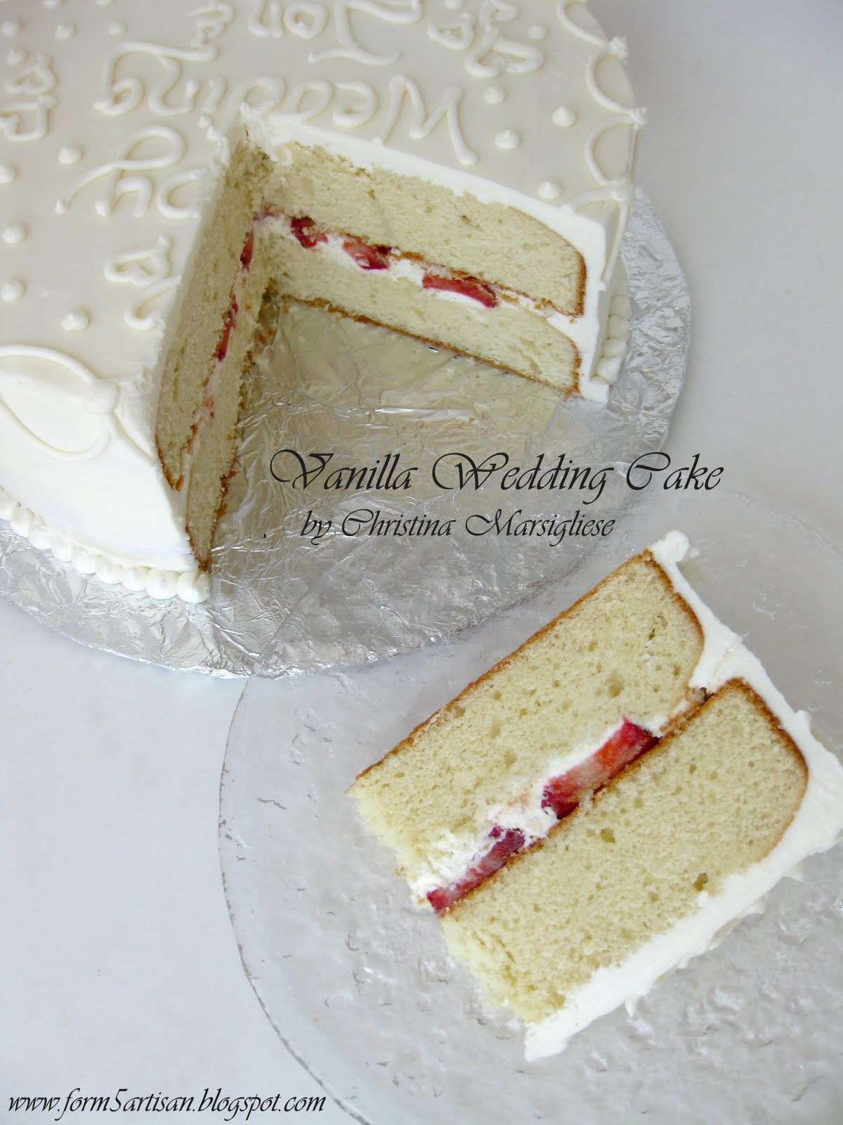 Showers Of Wedding Wishes And A Mini Cake