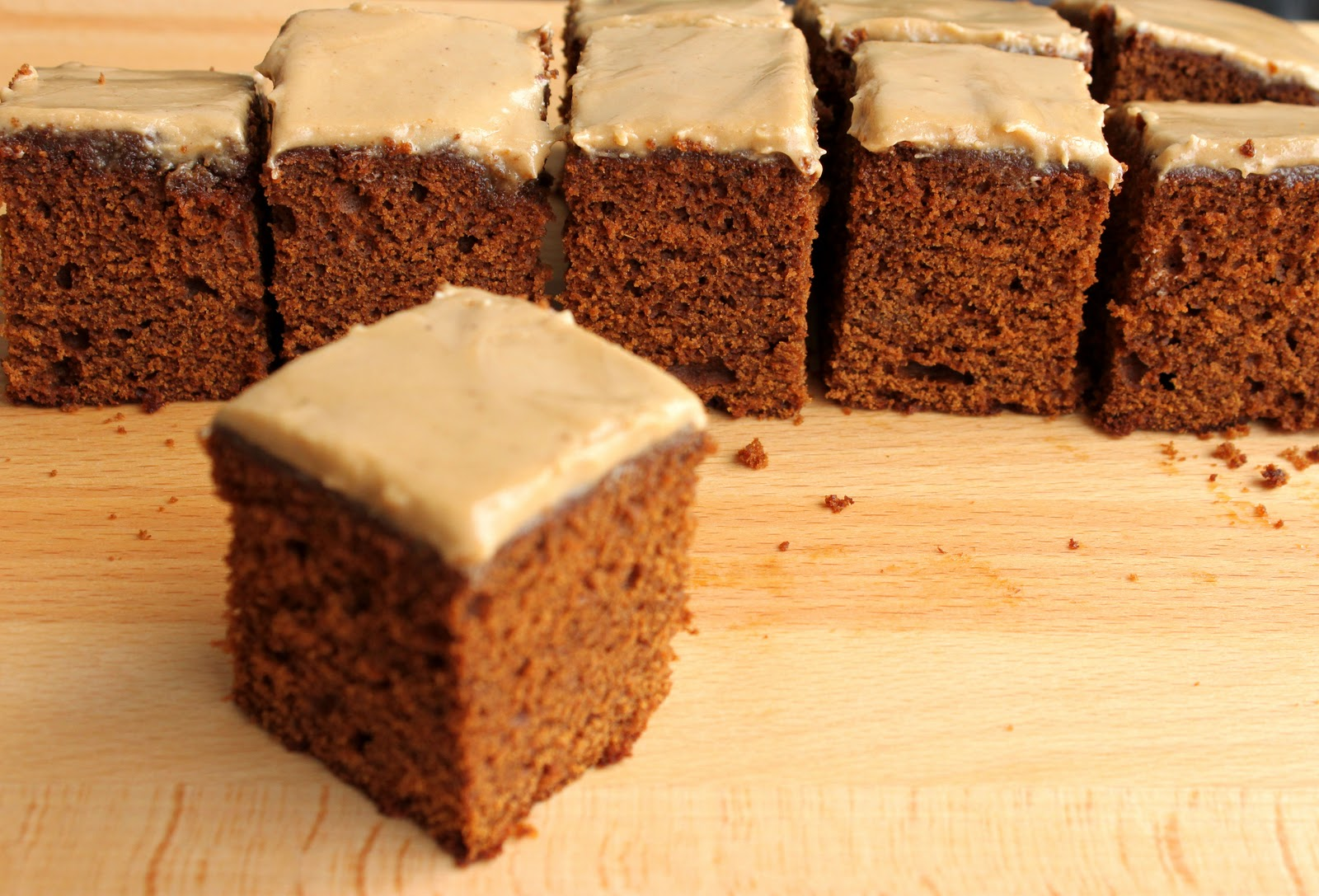 Scientifically Sweet Gingerbread Cake With Buttery Brown Sugar Glaze - Brown sugar cake
