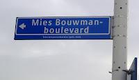 afbeelding van Mies Bouwman-boulevard in Hilversum