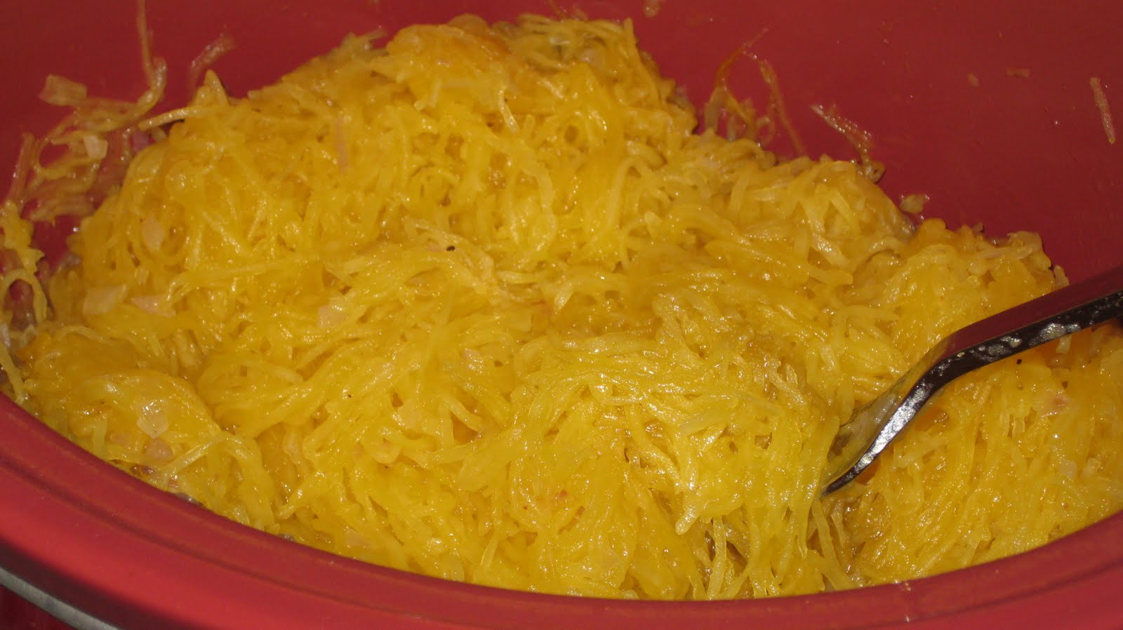 ... : Christmas Dinner, Part One: Spaghetti Squash with Maple and Shallot