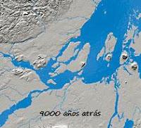 Gran Montreal, 9000 años atrás