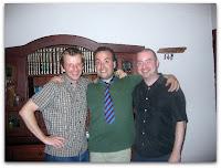 Cuando Michael y Robert me visitaron en Argentina
