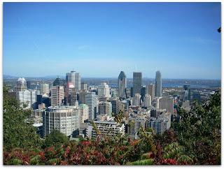 Montreal desde el mirador del cerro Mont-Royal