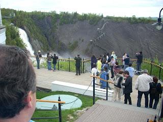 Cascadas de Montmorency, pasando Quebec un poquito