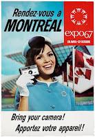 Poster de la Feria Mundial de Montreal 1967