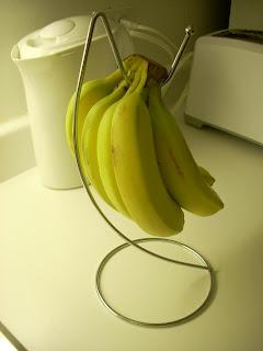 Perchero de bananas ($1 en Dollarama)