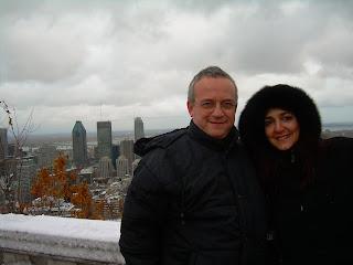 Patricia y Michel en Montreal