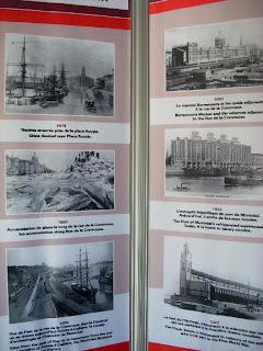 Fotos viejas del puerto de Montreal