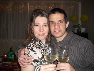 Adrian y Sole estrenando casa