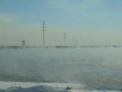 ¡Un río con frío!