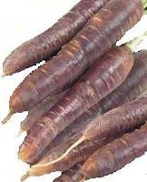 Zanahoria marrón ($2,49 el paquete)
