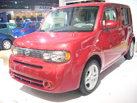 Nissan Cube, muy diferente