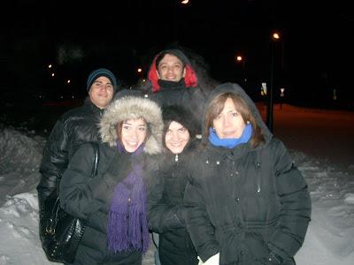 Sin viento: Mauri, Adrian, Belén, Romi y Moni