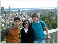 Mauri, Moni y Cris en la 1era visita a Mont-Royal