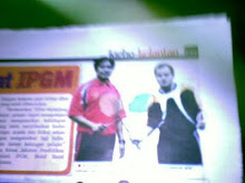 on news paper