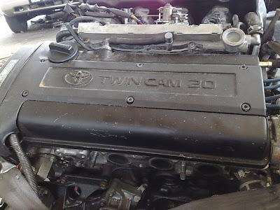 Toyota 4AGE 20V Blacktop engine head - Zerotohundred.com