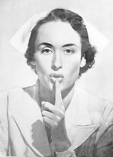Se necesitan personas educadas con deseos de progreso Enfermera_silencio