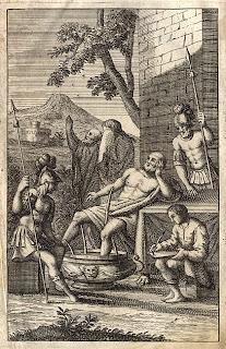 Engraving of Seneca