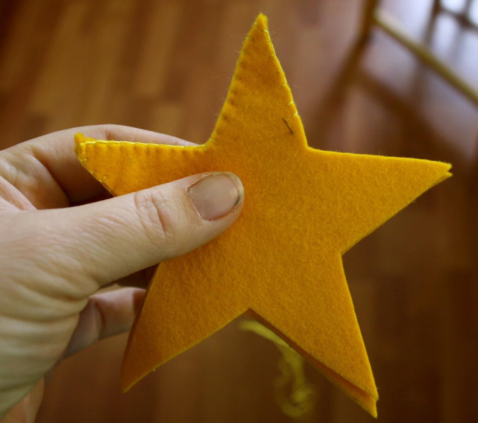 how to make twig stars