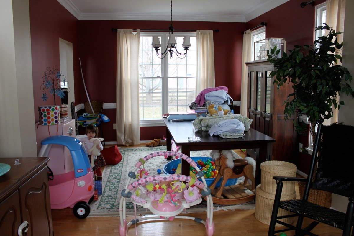 Dining Room To Playroom Makeover