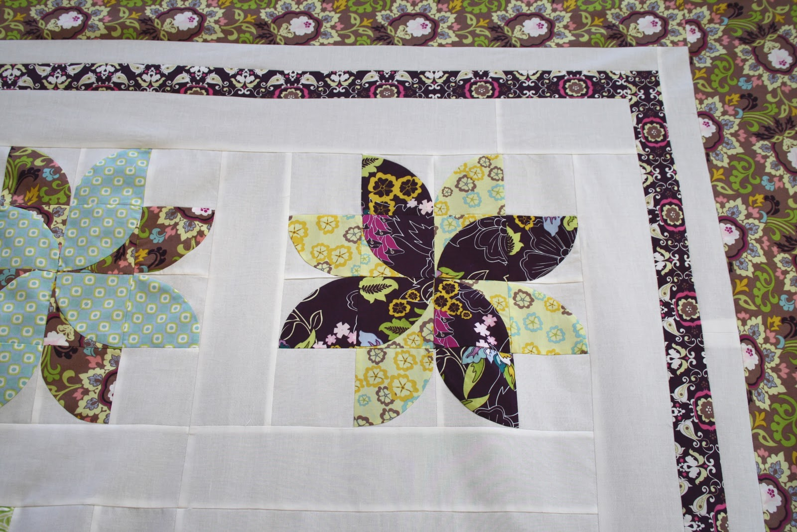 Chasing cottons new quilt and soon to be new pattern for Garden of eden xml design pattern