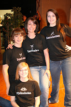 Sharie, Billy, Sara, and Sarah