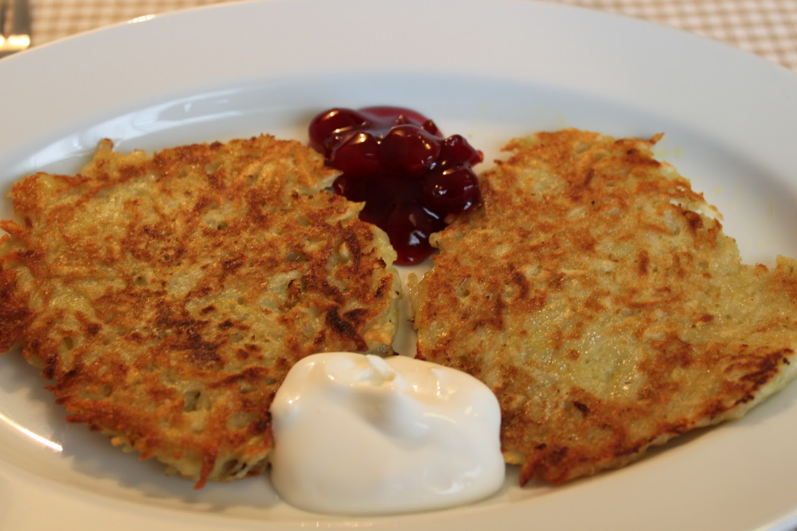 Potato Pancakes (Placki z Kartofli)