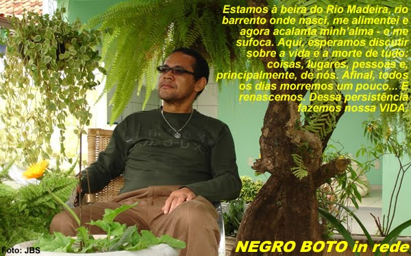 Negro Boto in rede