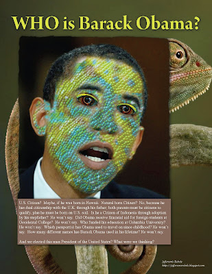 who is barack obama the chameleon