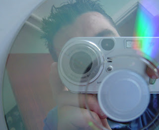 Me, my camera and a CD.