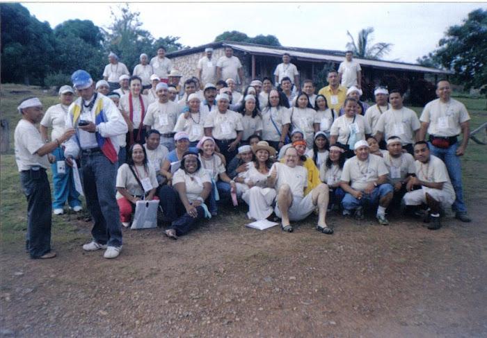 I Encuentro de Estudiantes Indígenas del Inst. Pedag. Rural El Mácaro. Estado Bolívar. Venezuela.