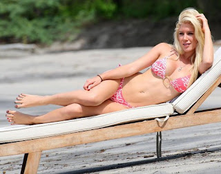 Heidi and Spencer Pratt Costa Rican Beach Bliss