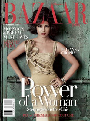 Priyanka Chopra  harpers bazaar india