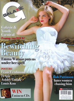  Emma Watson Galaxie Magazine August 2009