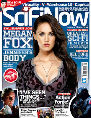 Megan Fox SciFiNow Magazine September 2009