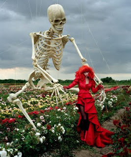 Tim Burton's Halloween Fashion Harper's Bazaar Photos