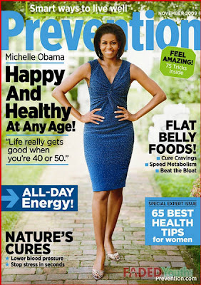 Michelle Obama Prevention Magazine November 2009