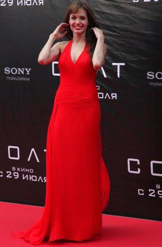 Angelina Jolie SALT Premiere Moscow Russia