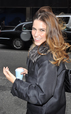 Sophia Bush at PIX 11 Morning News