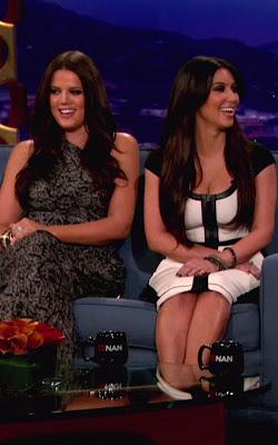 Kardashian Sisters Visiting Conan
