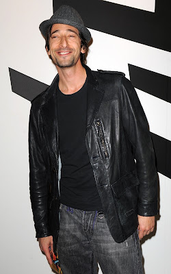 Adrien Brody at the Art Basel Festivities