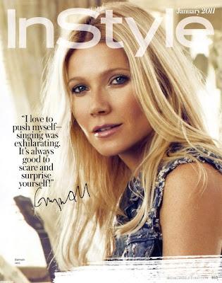 Gwyneth Paltrow InStyle Magazine January 2011