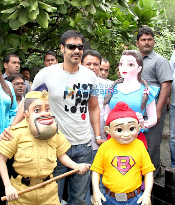 Ajay Devgan at the Kartavya Walkathon For Kids