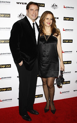 John Travolta and Kelly Preston at the 2011 G'Day USA Black Tie Gala