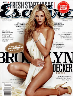 Brooklyn Decker Esquire Magazine February 2011