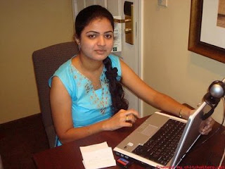 Hot Indian Girl Hemangini Picture She Doing Chating
