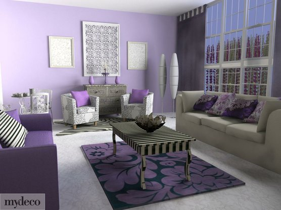 Good life of design is it lavender or lilac Lilac living room ideas