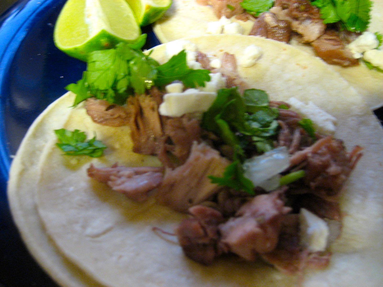 No-Waste Tacos De Carnitas With Salsa Verde Recipe — Dishmaps