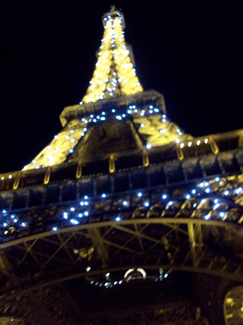 The Eiffel Tower's Light Show